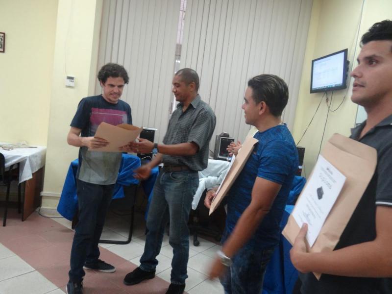 Reyder Cruz De la Osa (Maestro FIDE), profesor de la Facultad 3, resultó el ganador de la Final Blitz del III Grand Prix.