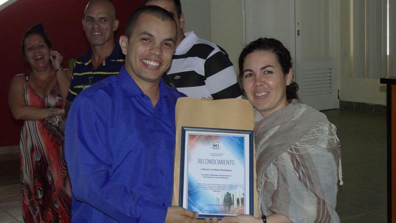 Titulado de Doctor en Ciencias Técnicas, Hassán Lombera Rodríguez.