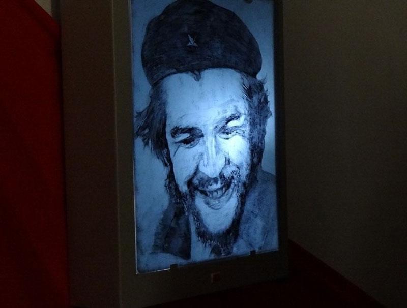 Dibujo del Comandante Ernesto Che Guevara.