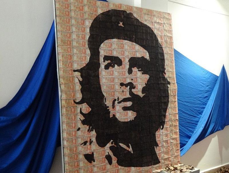 Collage del Comandante Ernesto Che Guevara.