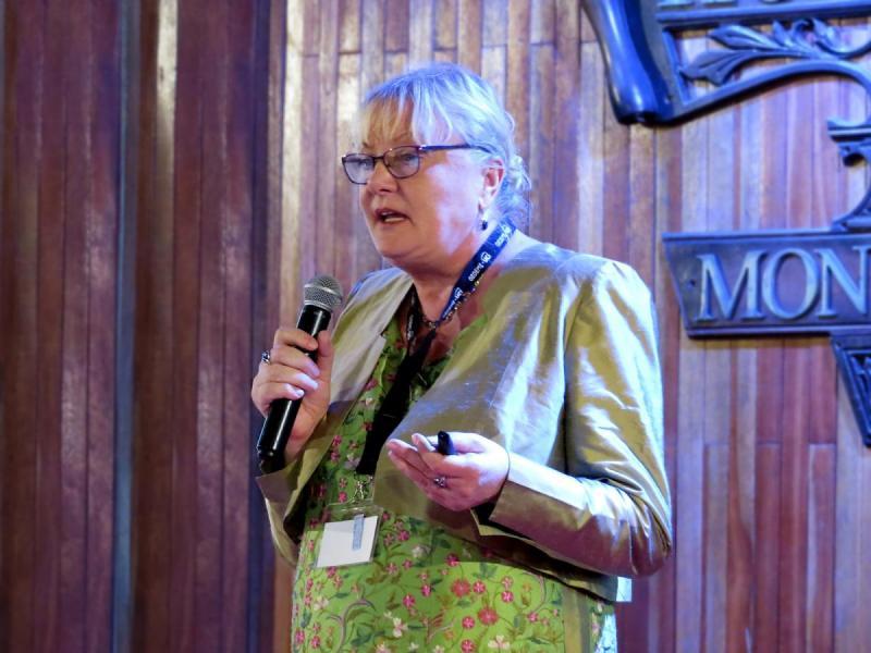 El Congreso se prestigió con la presencia de investigadores del renombre de la destacada investigadora Petra Perner.