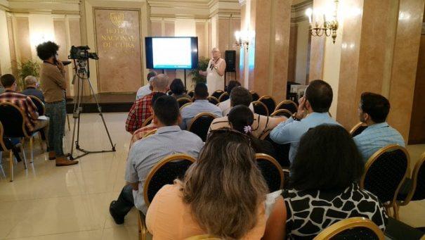Especialistas en el área del reconocimiento de patrones y la inteligencia artificial debaten en el Hotel Nacional de Cuba sobre minería de datos, reconocimiento de patrones, visión artificial, inteligencia artificial y campos relacionados.