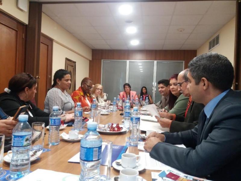 Estuvimos representados por el vicerrector de Producción, Dr.C. Yanio Hernández Heredia, en el encuentro que sostuvo la Baronesa Valerie Amos con directivos de varias universidades de nuestro país.