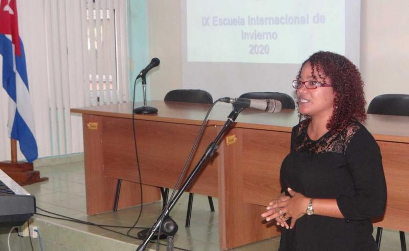 Dra.C. Yeleny Zulueta Véliz, directora de Educación de Posgrado de la UCI.