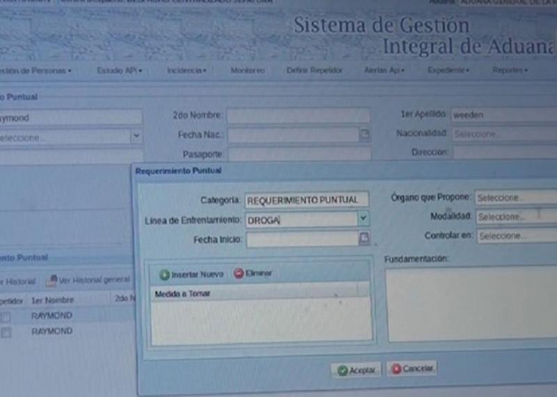Sistema de Gestión Integral de Aduanas (Gina)