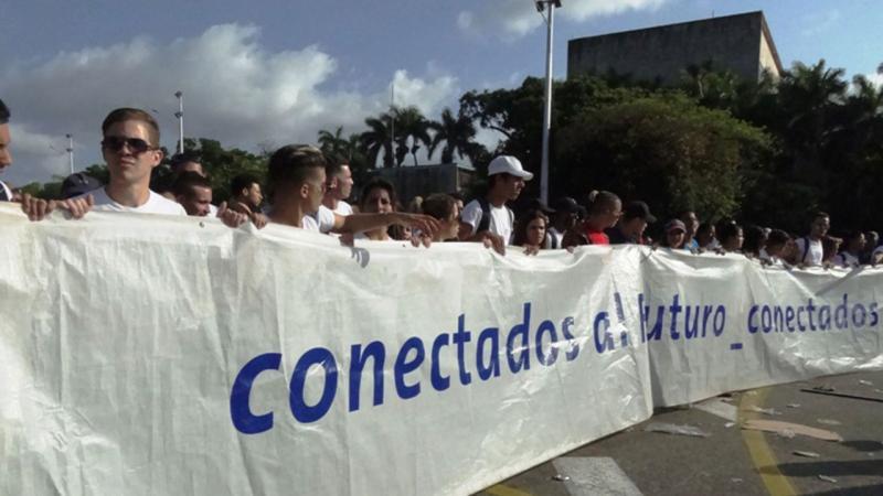Desfile Primero de Mayo.