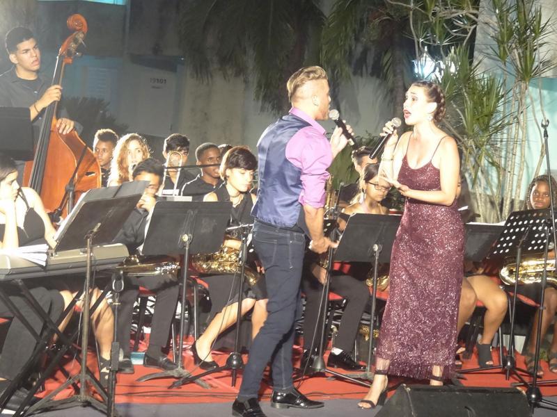 Concierto de la orquesta juvenil Jazz Band del Conservatorio Amadeo Roldán en la UCI.