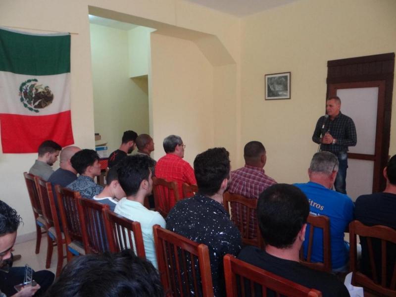 El Presidente de la Federación Cubana de Ajedrez, Carlos Rivero González comentó sobre el aporte del evento Remberto Fernandez a la comunidad ajedrecística.