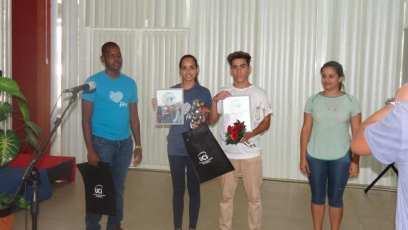 En la clausura de la Jici se entregó un reconocimiento a los participantes en el Congreso Latinoamericano y Caribeño de Estudiantes.