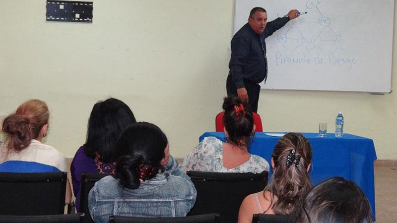 Dr. Turcios explained the four reasons why the consumption of narcotics is a threat to society.