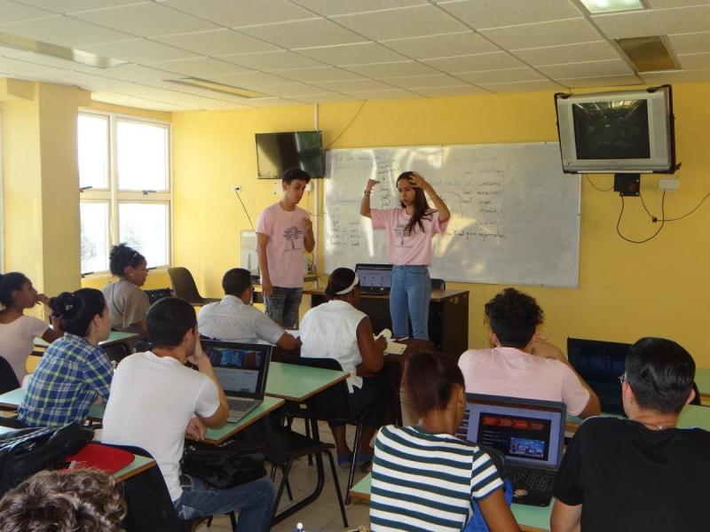 Exposición de trabajos en Web x Cuba.