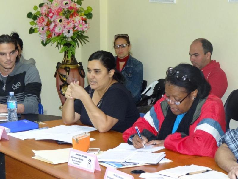 La vicedecana de Formación de la Citec, Vilmavis la Rosa Sordo, comentó acerca de la necesidad de aumentar la certificación en idioma inglés de los educandos.