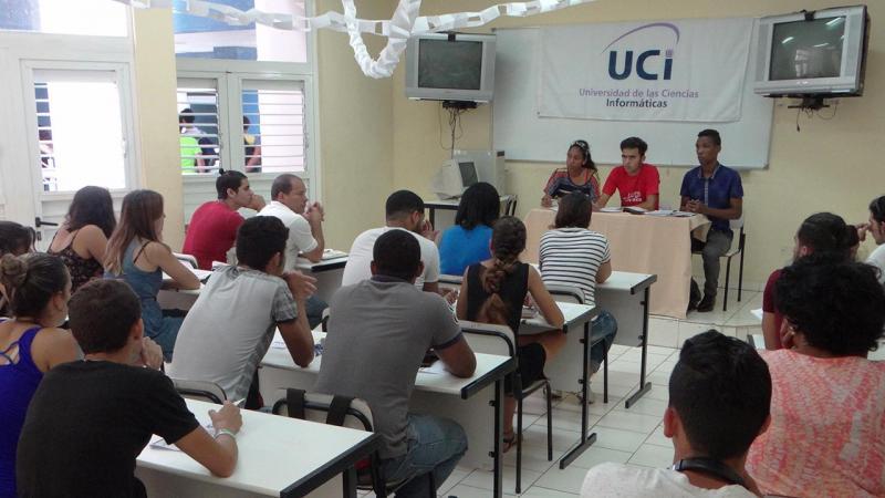 Debate la FICI legado de compromiso de la FEU: la responsabilidad de estudiar es nuestra.