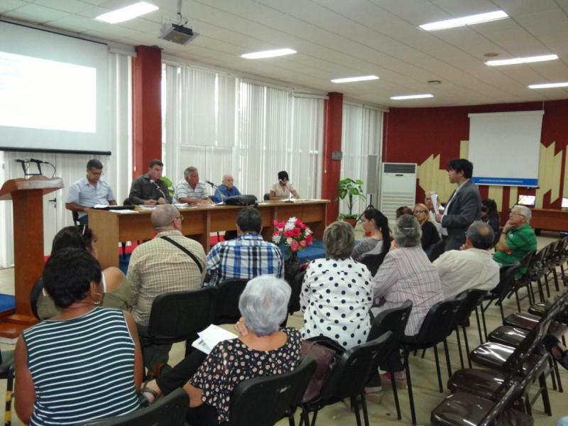 Taller de la IV Conferencia Científica, realizado el 11 de noviembre en el Salón de Eventos del docente Camilo Cienfuegos.