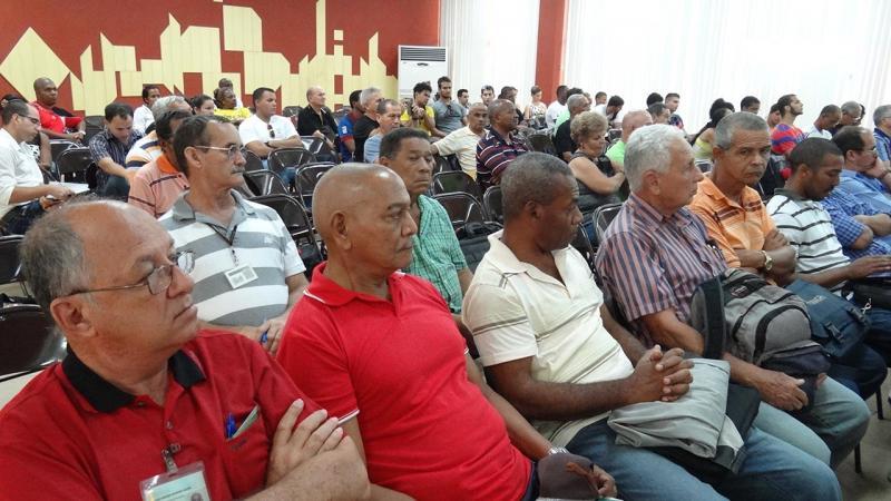 Asistieron al evento, además, miembros del Consejo Universitario y del colectivo de profesores del Departamento de Marxismo-Leninismo e Historia de la Universidad, entre otros invitados.