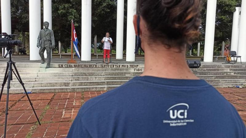 Leyvis Verdecia López comentó que los trabajadores cubanos son los impulsores de la economía del país.