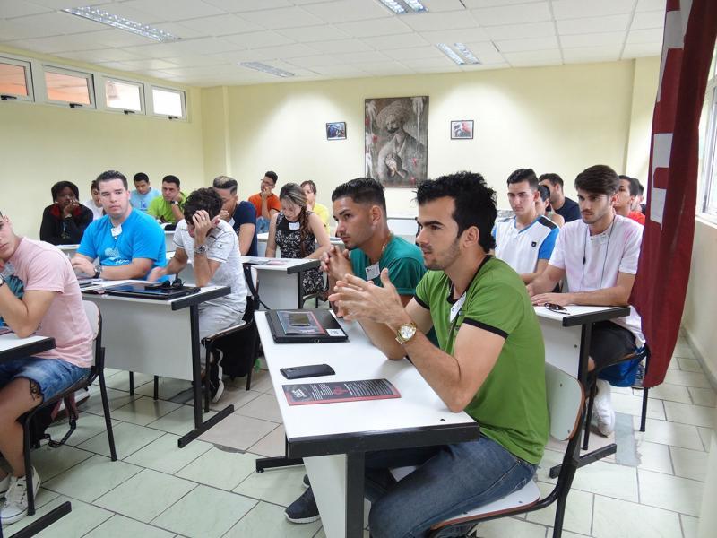En la brigada 201 escogieron como representantes del Congreso en la Facultad y en la Universidad a Jimmy Suárez Pupo y Danilo Zamora Serrano, respectivamente.