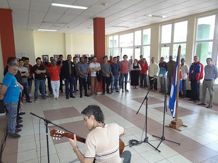 Inauguran en la UCI Décimo Torneo Universitario de Ajedrez