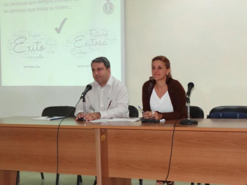El encuentro estuvo conducido, además, por la decana de la Facultad 2, Dra.C. Mónica Peña Casanova.