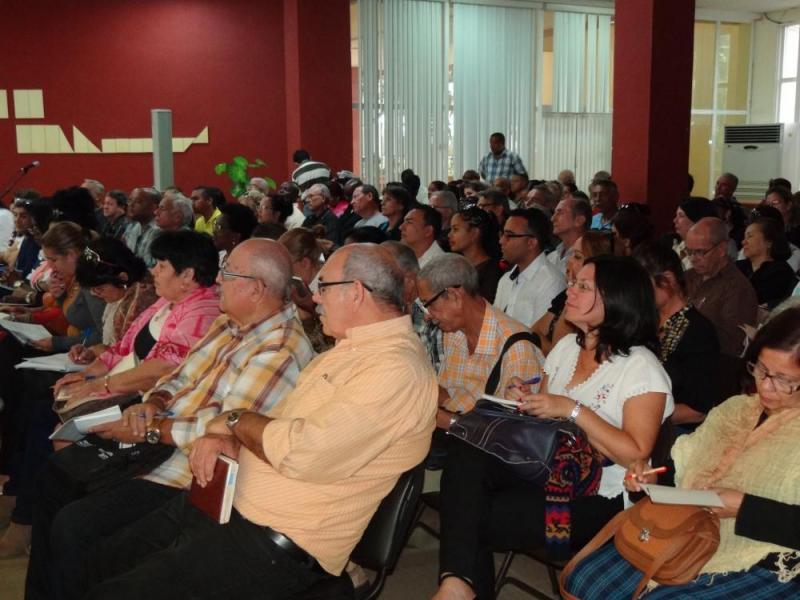 Profesores de Marxismo-Leninismo e Historia de Cuba en los centros de Educación Superior de todo el país, se reúnen en la UCI. Rate this item:Submit Rating