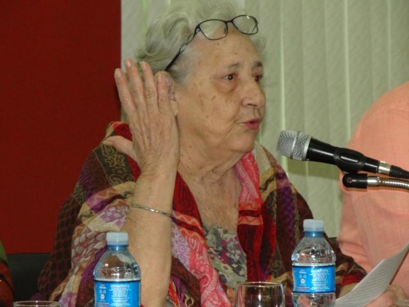 La prestigiosa filósofa cubana, Dra.C. Isabel Monal, habló sobre la significación de la cultura marxista en los profesionales cubanos, lo que implica sensibilidad y espiritualidad porque, dijo, no podemos darnos el lujo de equivocarnos.
