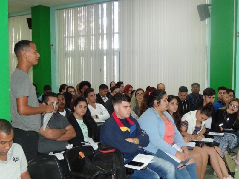 La FEU de Cuba ha sido siempre útil, dinámica y revolucionaria.