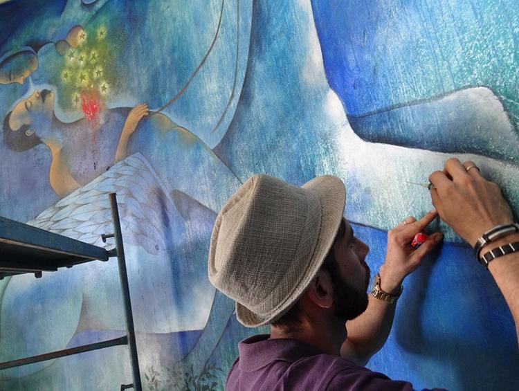Efervescencias en restauraciones de obras de arte