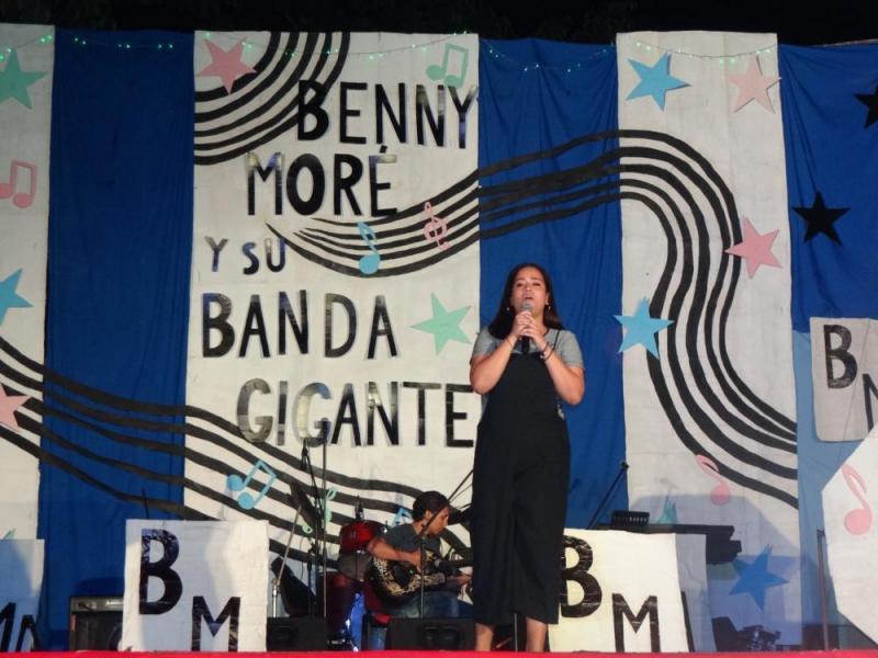 La vocalista Camila González Figuera cantó el tema Fhotograph, de Ed Sheeran.