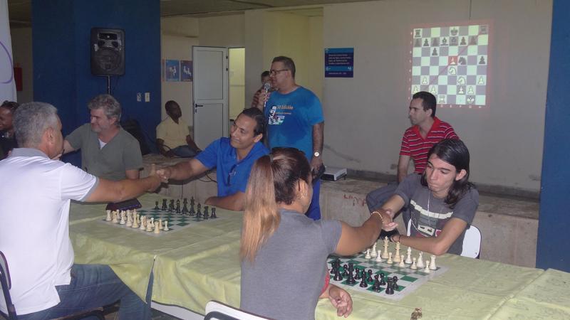 Match de ajedrez entre las facultades 4 y Citec.