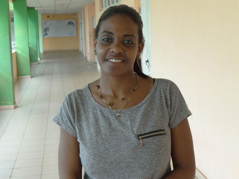 MsC. Dayana Caridad Tejera Hernández, coordinadora de la jornada por la Vicerrectoría de Formación