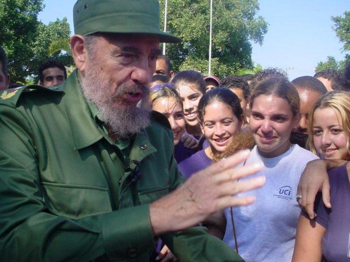 Este 12 de diciembre se cumplen 18 años de la visita que realizó el Comandante en Jefe Fidel Castro Ruz a la UCI