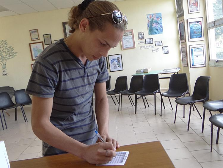 En fotos: Elecciones Sindicales en la UCI