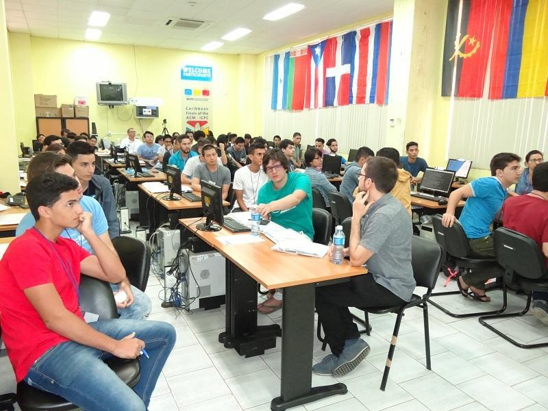 Inicio del Campamente Caribeño de Programación para el ICPC con la presencia de 17 equipos de Cuba y el Caribe.