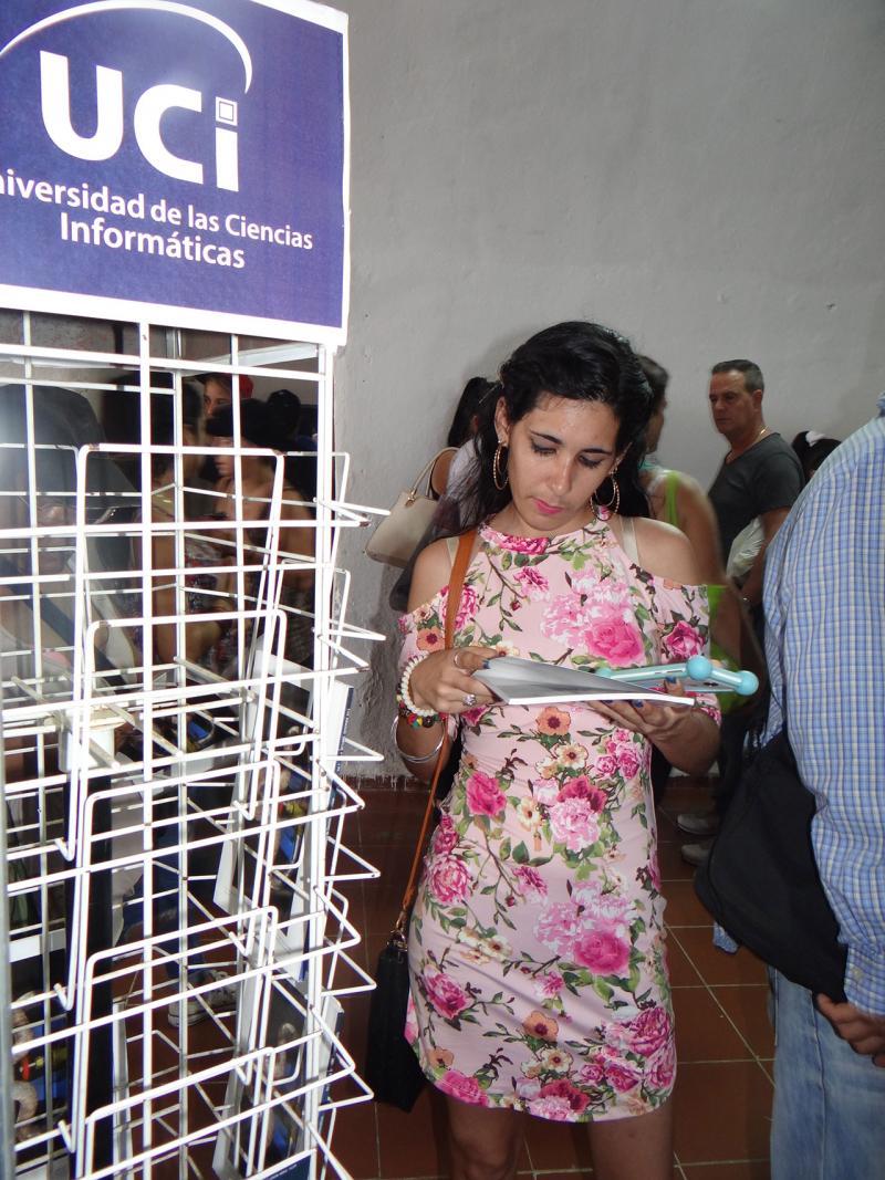 La Revista Cubana de Ciencias Informáticas (RCCI) tuvo buena acogida del público.