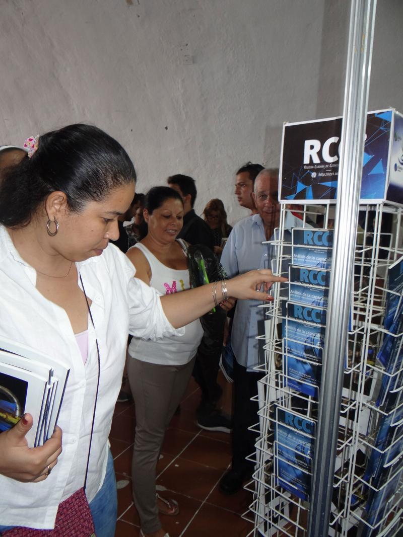 La Revista Cubana de Ciencias Informáticas (RCCI) ha sido bien recibida por el público.