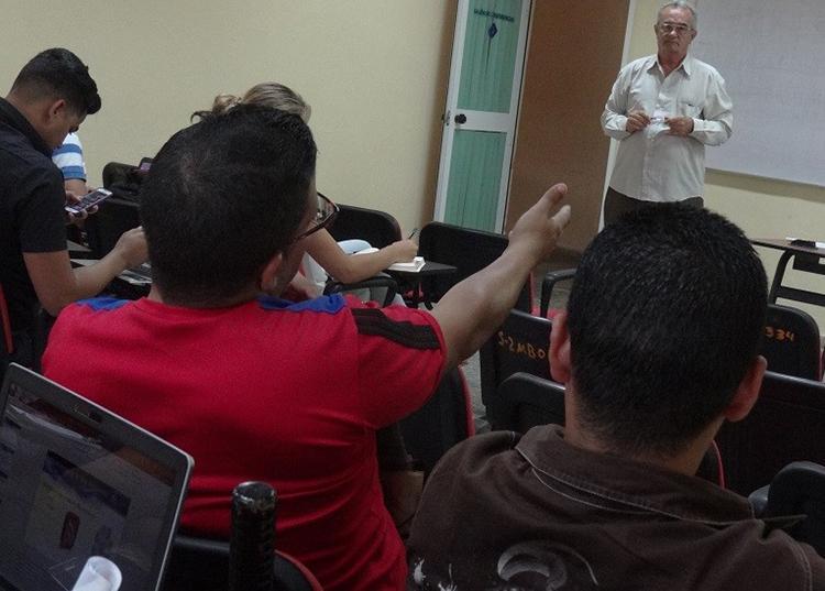 En fotos: Primera semana de la Escuela Internacional de Invierno