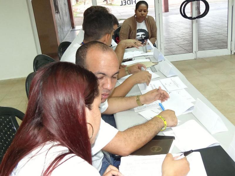 Realizada en la UCI prueba dinámica para el referendo constitucional a efectuarse el próximo 24 de febrero en todo el país.
