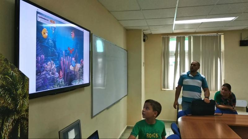 """Niños proyecto """"Yo quiero programar"""" de la UCI defendieron sus proyectos finales de programación."""