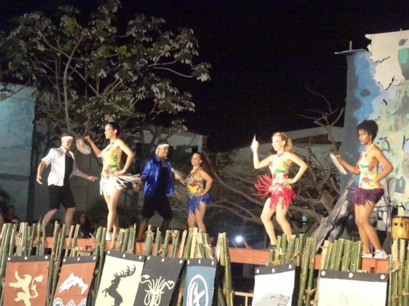 La Facultad 3 mostró su talento artístico en el festival dedicado a la serie Juego de Tronos.