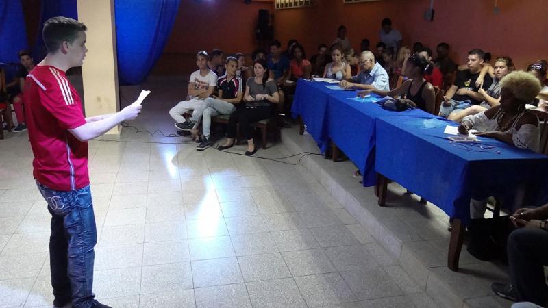 La FICI en teatro desde la Universidad de las Ciencias Informáticas UCI.