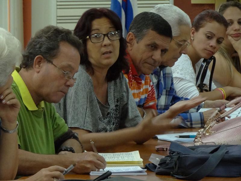 Profesionales de la Educación Superior en la Isla resaltaron la necesidad de continuar fortaleciendo el intercambio entre educadores.