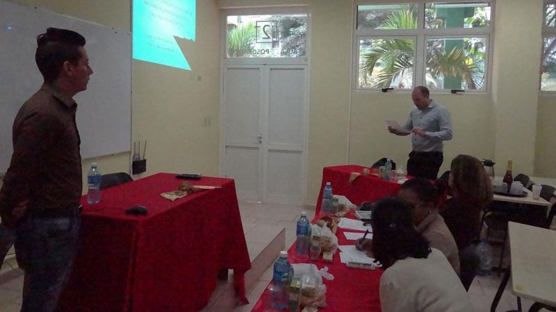 El Dr.C. Omar Correa Madrigal dio lectura a las palabras del tutor.