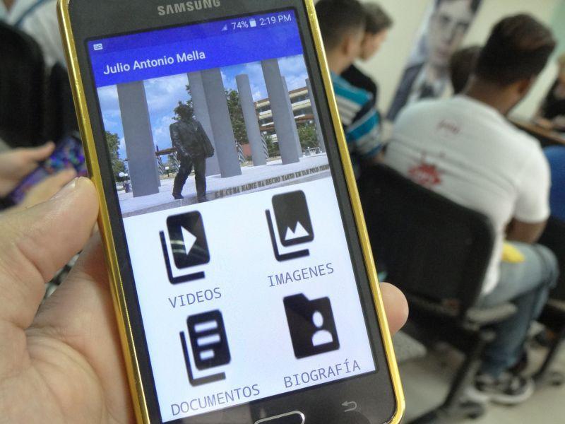 Aplicación para android sobre Julio Antonio Mella