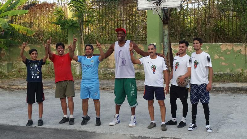 Equipos de baloncesto 3X3 que discutieron la final.