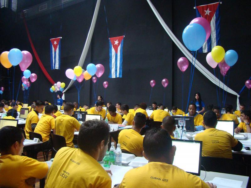 Competencia del ACM-ICPC.