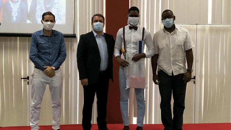 Graduación de estudiantes angolanos