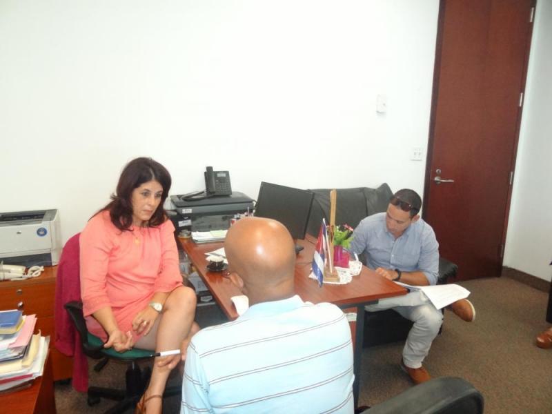 La comisión evaluadora intercambió con los empleadores de la Corporación Cimex S.A.