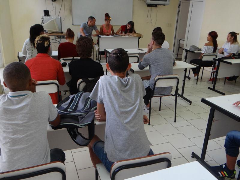 Asambleas de brigadas de la Fici.