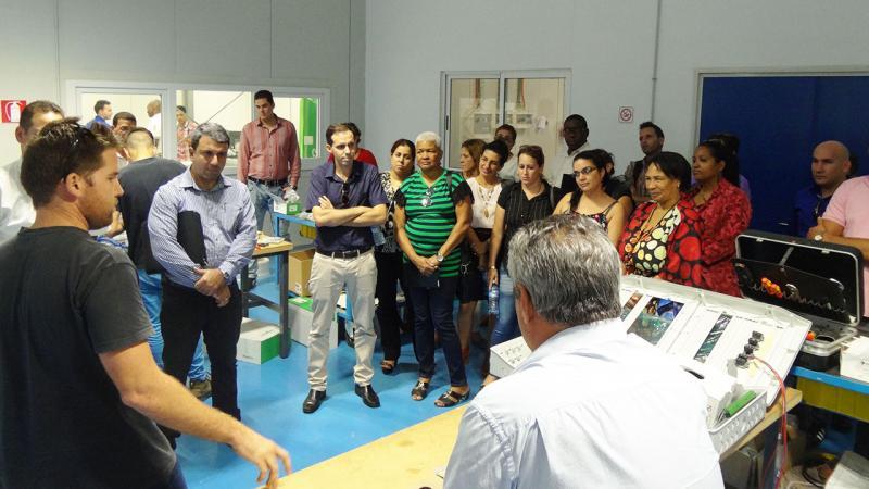 Intercambio con especialistas de la empresa BDCTEC.