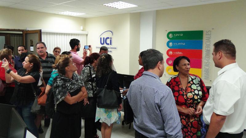 Oficina de la UCI en la Zona Especial de Desarrollo Mariel.